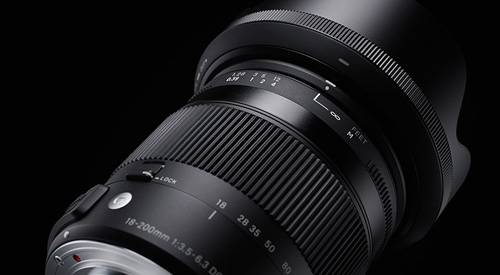 لنز سیگما Sigma 18-200mm Macro OS HSM for canon