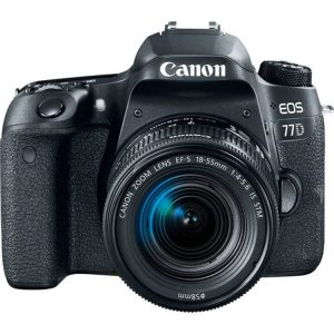 دوربین کانن EOS 77D Kit EF-S 18-55mm IS STM